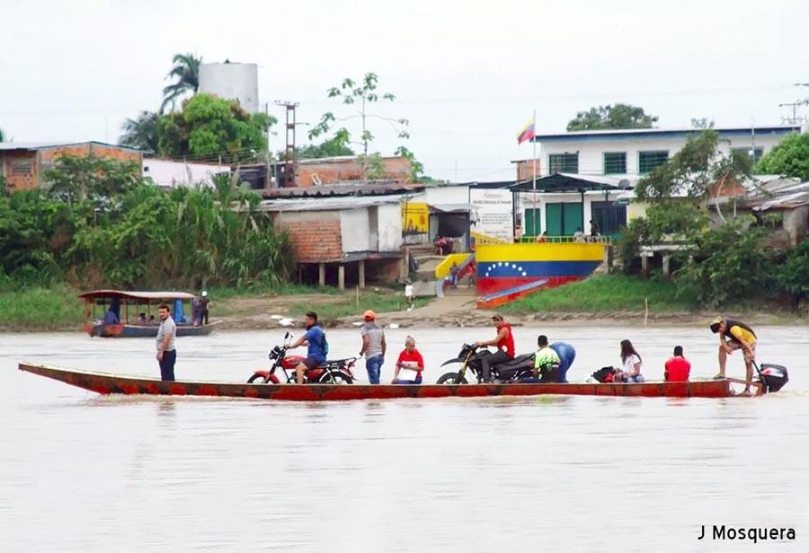 EL ASEDIO POR LA FRONTERA COLOMBO-VENEZOLANA