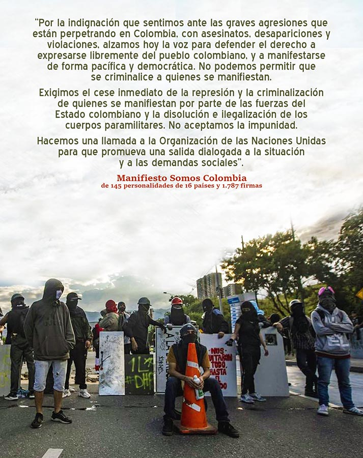NO CRIMINALIZAR MANIFESTANTES, ONU PROMUEVA SALIDA DIALOGADA
