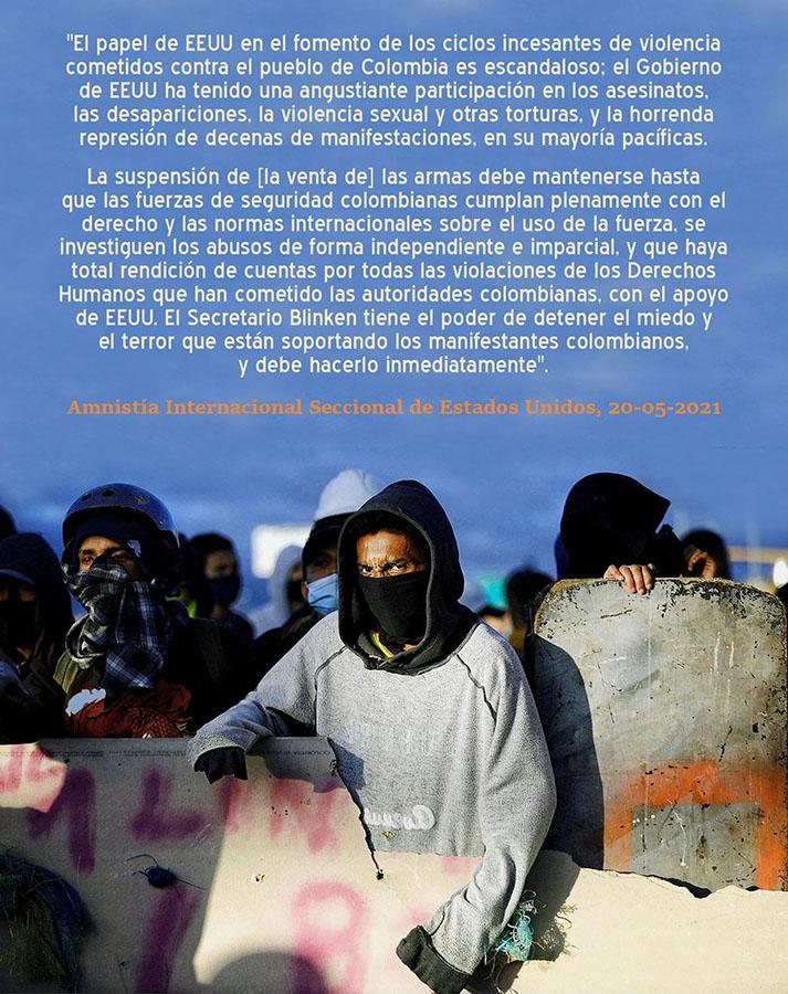 EEUU FOMENTA CICLOS INCESANTES DE VIOLENCIA CONTRA EL PUEBLO COLOMBIANO