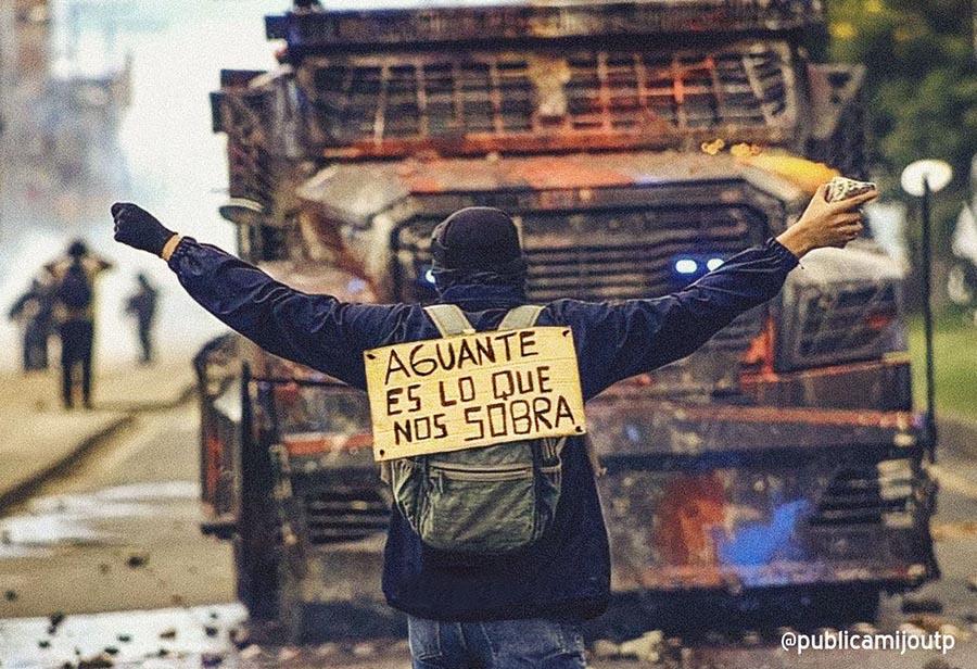 LA SOLUCIÓN ES NEGOCIAR CON EL PUEBLO Y NO MILITARIZAR