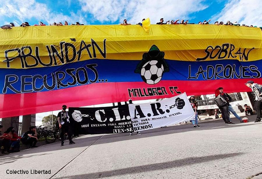 COLOMBIA AFRONTA UN BLOQUEO HISTÓRICO