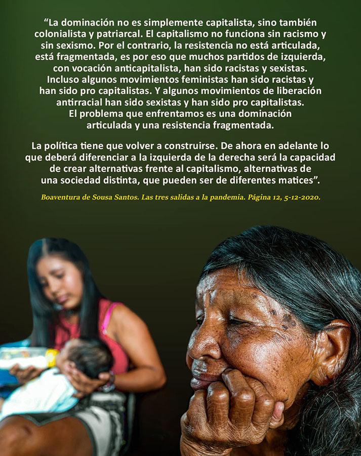 'CREAR ALTERNATIVAS DE UNA SOCIEDAD DISTINTA'