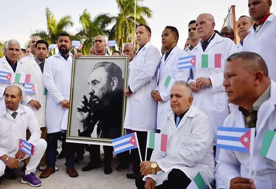 SOBRE LAS MISIONES HUMANITARIAS Y DE PAZ DE CUBA