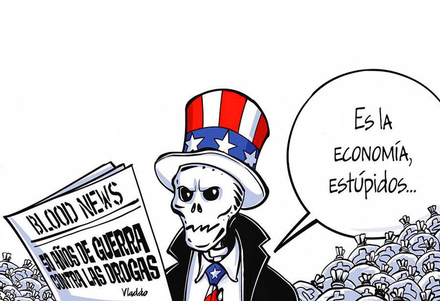 LA ÚNICA GUERRA QUE GANAN LOS EEUU
