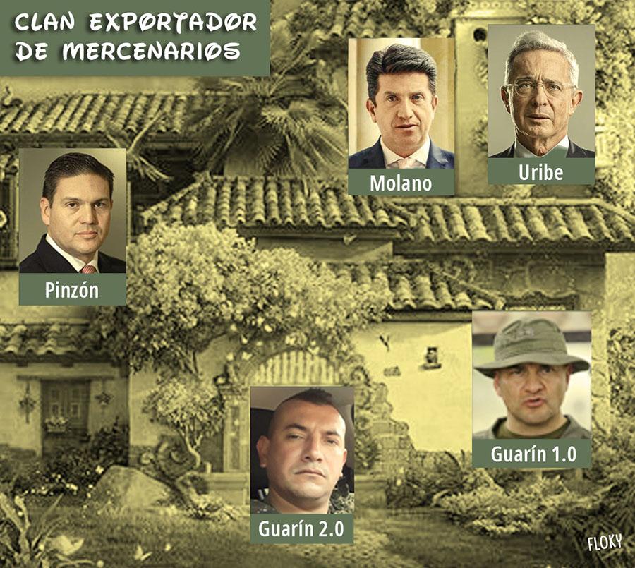 CLAN EXPORTADOR DE MERCENARIOS