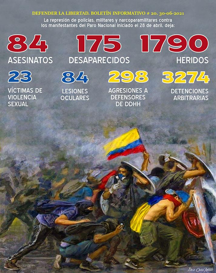 COLOMBIA CLAMA JUSTICIA