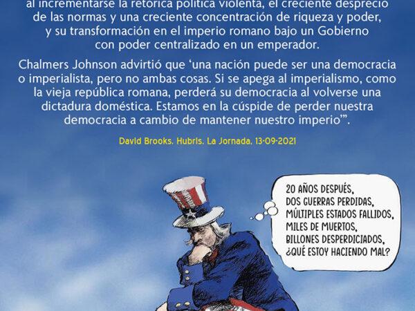 EEUU: DEL TERROR GLOBAL AL TERROR DOMÉSTICO