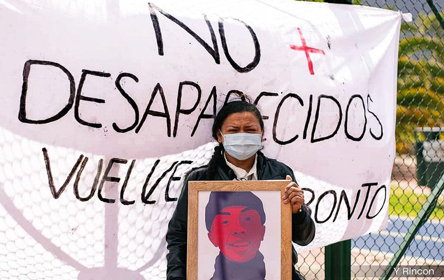 COLOMBIA PRIMER LUGAR CON 80.472 DESAPARECIDOS