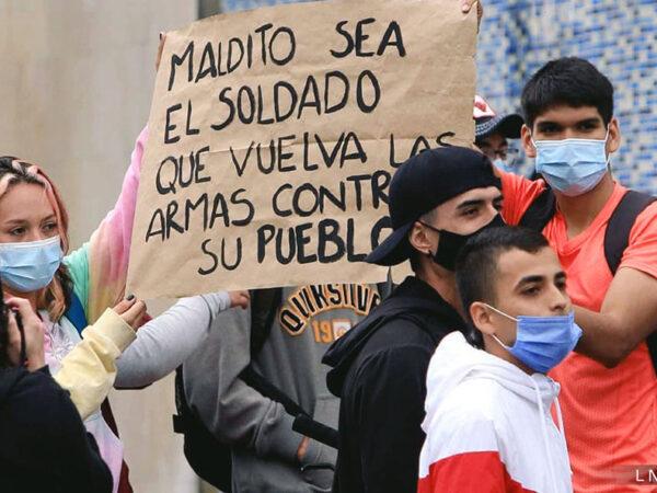 VIOLENCIA ESTATAL DESBORDADA CONTRA LA PROTESTA SOCIAL