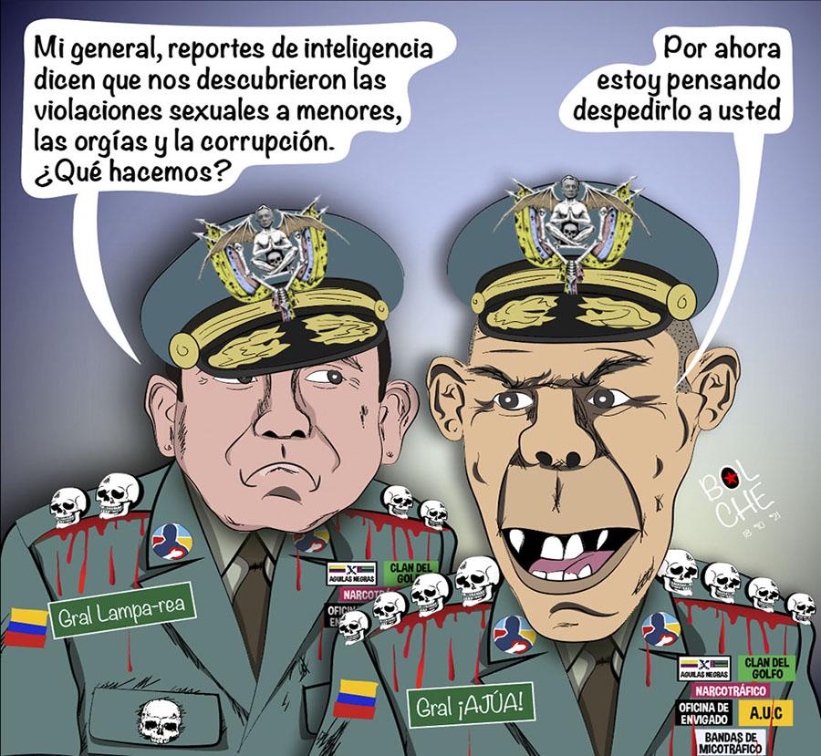 'COMUNIDAD DEL ANILLO' EN EL EJÉRCITO