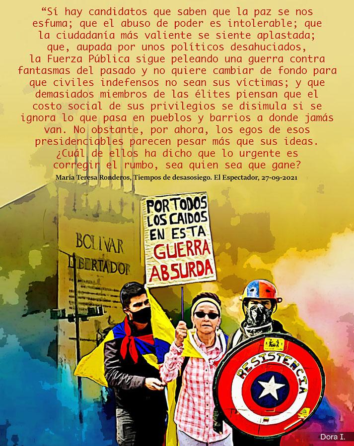 CINCO AÑOS DE EXTERMINIO Y PACIFICACIÓN