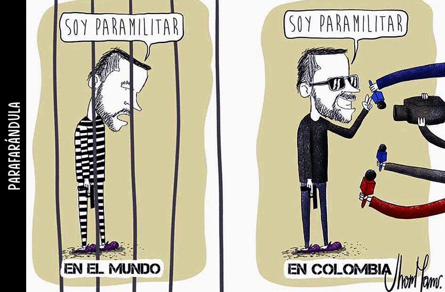 LA CABAL Y EL PARAMILITARISMO URBANO
